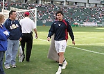 29 January 2006: Santino Quaranta (21), of the U.S., heads to the locker room. The United States Men's National Team defeated their counterparts from Norway 5-0 at the Home Depot Center in Carson, California in a men's international friendly soccer game.