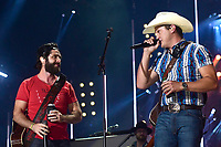 07 June 2019 - Nashville, Tennessee - Thomas Rhett, Jon Pardi. 2019 CMA Music Fest Nightly Concert held at Nissan Stadium. Photo Credit: Dara-Michelle Farr/AdMedia