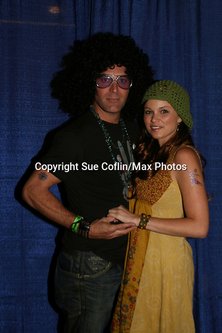 GL - Robert Bogue & Mandy Bruno at Guiding Light's Bradley Cole's Annual Rock Show for Charity was held on September 26, 2008 to benefit American Red Cross at the Greater New York Headquarters, New York City, New York. Two Shows and two pre-show mix-n-mingles. (Photo by Sue Coflin/Max Photos)