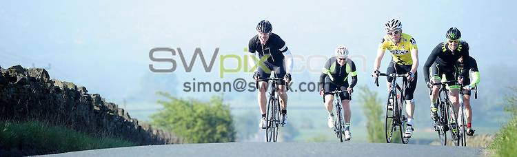 Picture by Simon Wilkinson/SWpix.com - 08/05/2016 - Cycling FLAB Fat Lad at The Back Yorkshire Sportive <br /> <br /> copyright picture - Simon Wilkinson - simon@swpix.com