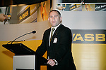 Mark Hayward from the ASB Bank. ASB College Sport Young Sportperson of the Year Awards 2007 held at Eden Park on November 15th, 2007.