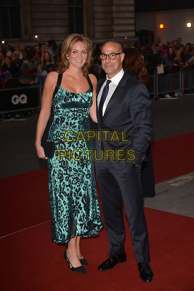 LONDON, ENGLAND SEPTEMBER 02: Stanley Tucci and wife Kate attend the GQ Men of the Year 2014 awards in association with Hugo Boss at The Royal Opera House on September 2, 2014 in London, England.<br /> CAP/PL<br /> &copy;Phil Loftus/Capital Pictures