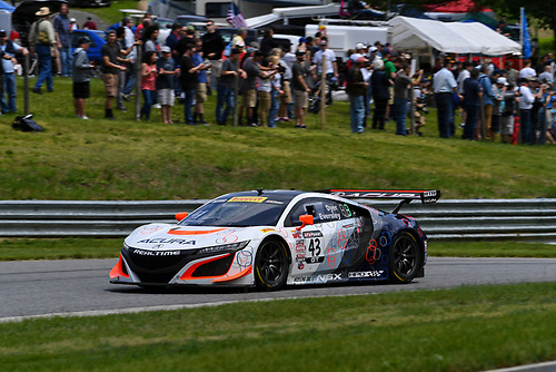 Pirelli World Challenge<br /> Grand Prix of Lime Rock Park<br /> Lime Rock Park, Lakeville, CT USA<br /> Saturday 27 May 2017<br /> Ryan Eversley / Tom Dyer<br /> World Copyright: Richard Dole/LAT Images<br /> ref: Digital Image RD_LMP_PWC_17162