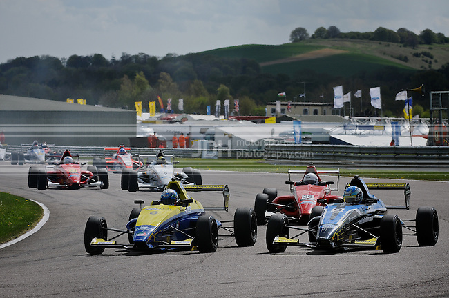 British Formula Ford - Thruxton 2013
