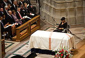 Poet Maya Angelou speaks during the funeral service for civil rights activist Dorothy Height held at the National Cathedral in Washington, D.C. on Thursday, April 29, 2010.  Height passed away on April 20 at the age of 98. .Credit: Kristoffer Tripplaar / Pool via CNP