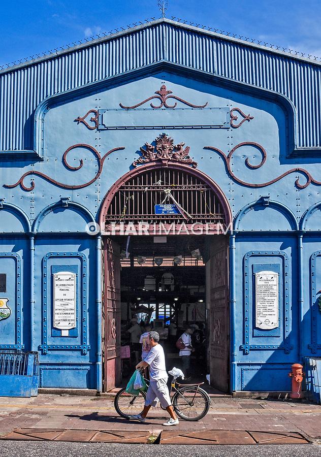 Mercado de Ferro, complexo do Mercado Ver-O-Peso, Belem. Para. 2017. Foto Luciana Whitaker
