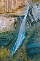 Lower Calf Creek Falls<br /> Escalante-Grand Staircase National Monument<br /> Colorado Plateau,  Utah
