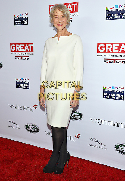28 February 2014 - Los Angeles, California - Helen Mirren. GREAT British Film Reception to honor the British Oscar nominees, hosted by Consul General Chris O'Connor at the British Residence. <br /> CAP/ADM/CC<br /> &copy;CC/AdMedia/Capital Pictures