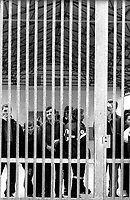 Milano, via Corelli.CIE, centro di identificazione ed espulsione per immigrati, ex cpt centro di permanenza temporanea.Milan, Via Corelli.CIE: Center for identification and expulsion of immigrants, ex CPT detention temporary center