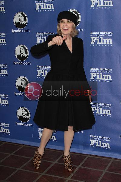 "Diane Keaton<br /> at the 27th Annual Santa Barbara Film Festival Opening Night Premiere of ""Darling Companion,""  Arlington Theater, Santa Barbara, CA 01-26-12<br /> David Edwards/DailyCeleb.com 818-249-4998"
