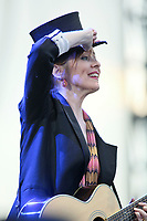Suzanne Vega performs at the 45th Festival d'ete de Quebec on the Plains of Abraham in Quebec city Friday July 13, 2012. The Festival d'ete de Quebec is Canada's largest music festival with more than 1000 artists and close to 300 shows over 11 days..