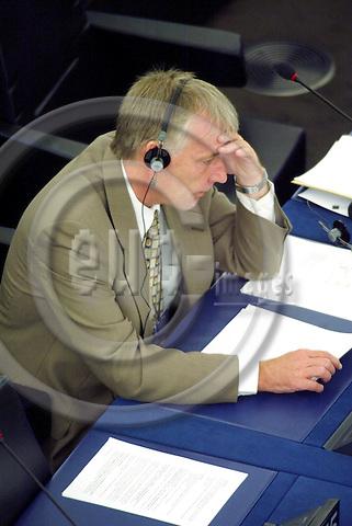 STRASBOURG - FRANCE  -20 JULY 2004--Mr. Henrik Dam KRISTENSEN, Danish MEP for the PES Group.--PHOTO: ERIK LUNTANG / EUP-IMAGES