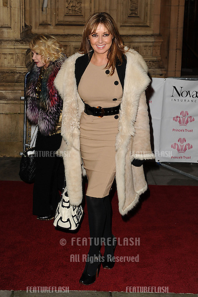 Carol Vorderman arriving for the Prince's Trust Comedy Gala at the Royal Albert Hall, London. 28/11/2012 Picture by: Steve Vas / Featureflash