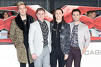 Collabro at the premiere of &quot;xXx-Return of Xander Cage&quot; at the O2 Cineworld, London, UK. <br /> 10th January  2017<br /> Picture: Steve Vas/Featureflash/SilverHub 0208 004 5359 sales@silverhubmedia.com