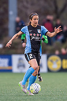 Allston, MA - Saturday, May 07, 2016: Chicago Red Stars forward Jennifer Hoy (2) during a regular season National Women's Soccer League (NWSL) match at Jordan Field.