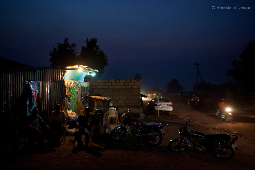 January 13, 2011 - Juba, South Sudan - Seens of Juba town during night time. Photo credit: Benedicte Desrus