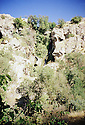 Irak 2000.Pres de Sharanesh, une cascade.   Iraq 2000.  Near Sharanesh, a waterfall