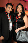 Edward Sanchez and his sister Enid at the first night of Fashion Houston at the Wortham Theater Monday Oct. 10,2011.(Dave Rossman/For the Chronicle)