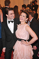 Daniel Radcliffe and Rose Hemingway at the 'Schiaparelli And Prada: Impossible Conversations' Costume Institute Gala at the Metropolitan Museum of Art on May 7, 2012 in New York City. © mpi03/MediaPunch Inc.