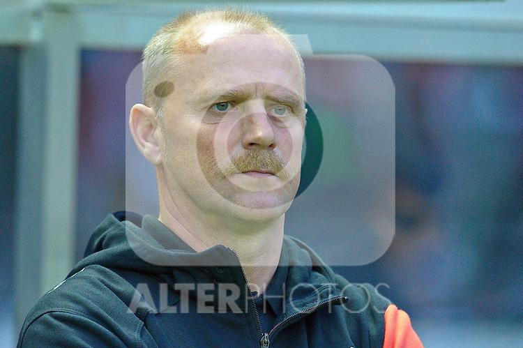 15.05.2010, Olympia Stadion, Berlin, GER, DFB Pokal Finale 2010,  Werder Bremen vs Bayern Muenchen im Bild  Thomas Schaaf ( Werder  - Trainer  COACH)..Foto © nph / Kokenge