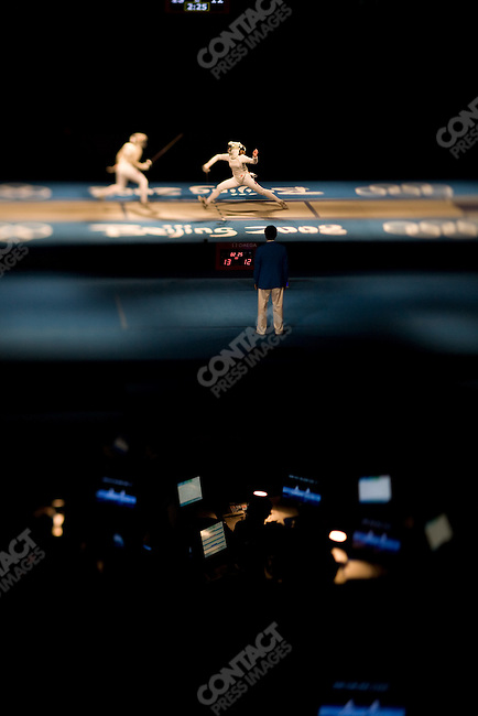 Women's Individual Saber, Fencing Hall, Olympics, Beijing, China, August 9, 2008