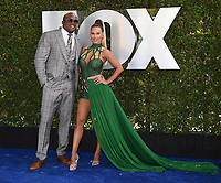 """LOS ANGELES - OCTOBER 4: Lashley and Catherine Joy Perry attends the kick-off event for the """"WWE Friday Night Smackdown on FOX"""" at Staples Center on October 4, 2019 in Los Angeles, California. (Photo by Frank Micelotta/Fox Sports/PictureGroup)"""