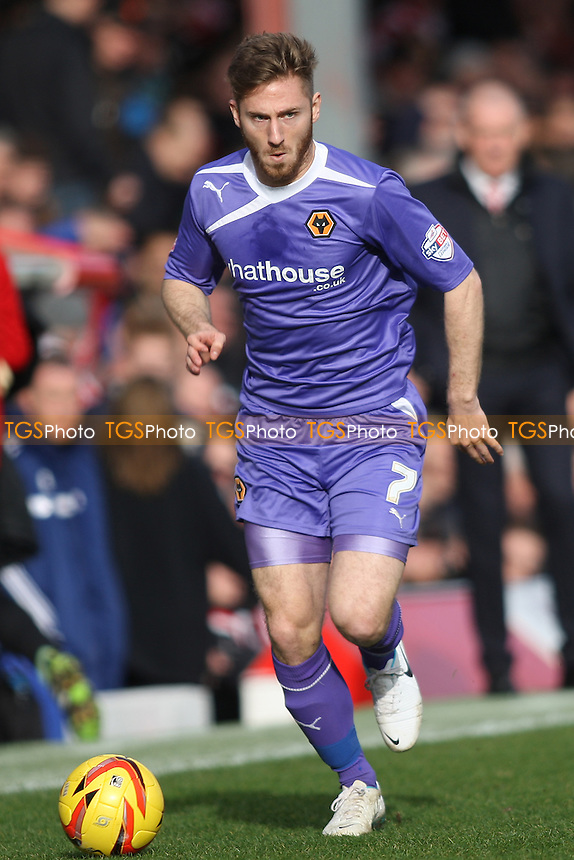 James Henry of Wolves- Brentford vs Wolverhampton Wanderers - Sky Bet League One Football at Griffin Park, London - 22/02/14 - MANDATORY CREDIT: George Phillipou/TGSPHOTO - Self billing applies where appropriate - 0845 094 6026 - contact@tgsphoto.co.uk - NO UNPAID USE