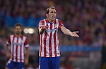 Diego Godin during the UEFA Champions League semifinal first leg football match Club Atletico de Madrid vs Chelsea FC at the Vicente Calderon stadium in Madrid on April 22, 2014.   PHOTOCALL3000/DP