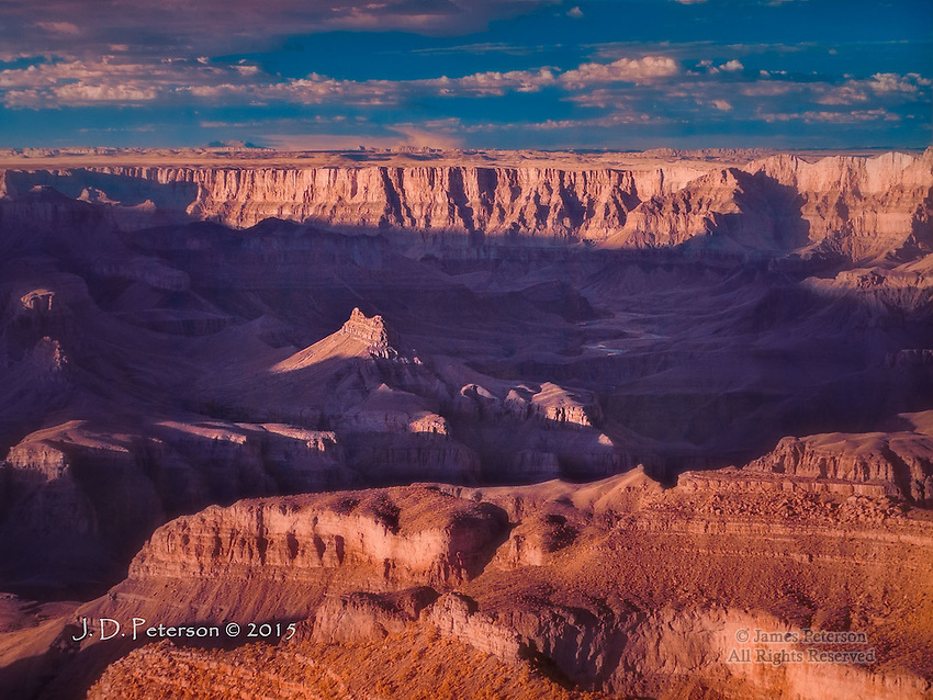 South Rim at Sunset (Infrared)