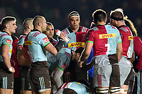 Ben Glynn of Harlequins looks on. European Rugby Champions Cup match, between Harlequins and Wasps on January 13, 2018 at the Twickenham Stoop in London, England. Photo by: Patrick Khachfe / JMP