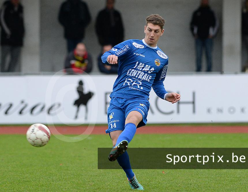 R Knokke FC : Simon Savaete<br /> Foto VDB / Bart Vandenbroucke