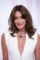 Carla Bruni at the 2018 Fashion For Relief gala during the 71st Cannes Film Festival, held at Aeroport Cannes Mandelieu in Cannes, France.<br /> CAP/NW<br /> &copy;Nick Watts/Capital Pictures