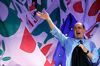 Nicola Zingaretti during his speech to the delegates<br /> Rome March 17th 2019. National Assembly of Italian Democratic Party (PD) that proclaimed Nicola Zingaretti new secretary.<br /> Foto Samantha Zucchi Insidefoto
