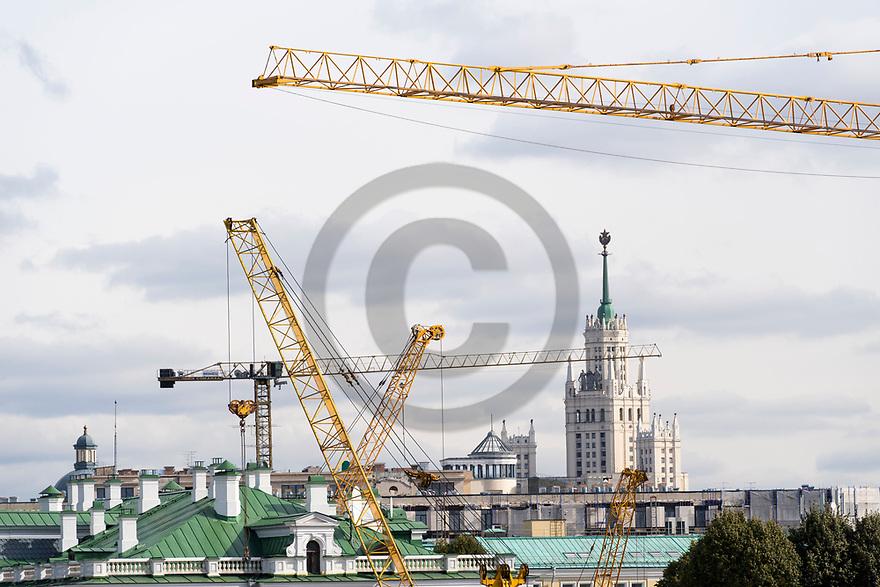 29/09/18 - MOSCOU - RUSSIE - Illustration, travaux et investissements dans la capitale Moscovite - Photo Jerome CHABANNE