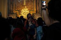 La Pietà di Michelangelo.Basilica di San Pietro.Città del Vaticano.Vatican City.