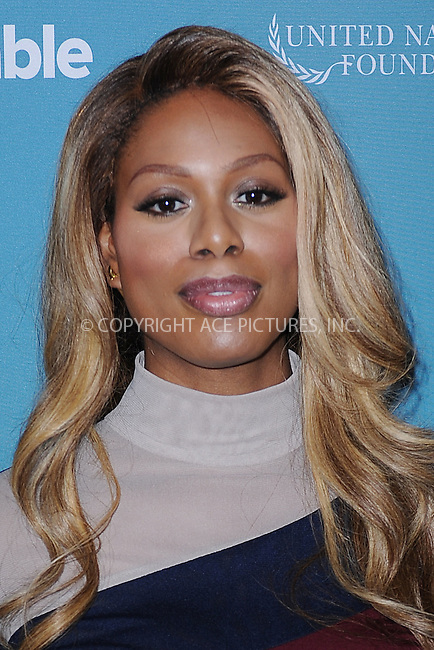 WWW.ACEPIXS.COM<br /> September 28, 2015 New York City<br /> <br /> Laverne Cox attends the 2015 Social Good Summit at 92Y on September 28, 2015 in New York City.<br /> <br /> Credit: Kristin Callahan/ACE Pictures<br /> <br /> Tel: (646) 769 0430<br /> e-mail: info@acepixs.com<br /> web: http://www.acepixs.com