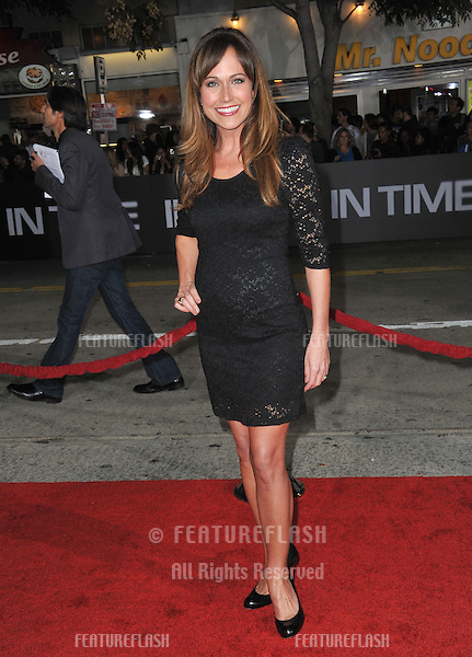 "Nikki Deloach at the Los Angeles premiere of ""In Time"" at the Regency Village Theatre, Westwood..October 20, 2011  Los Angeles, CA.Picture: Paul Smith / Featureflash"
