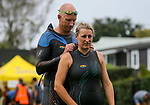 Banana Boat Ocean Swim Series, King of the Bays, Cheltenham to Devonport, Auckland, New Zealand, Saturday 14 April 2018. Photo: Simon Watts/www.bwmedia.co.nz