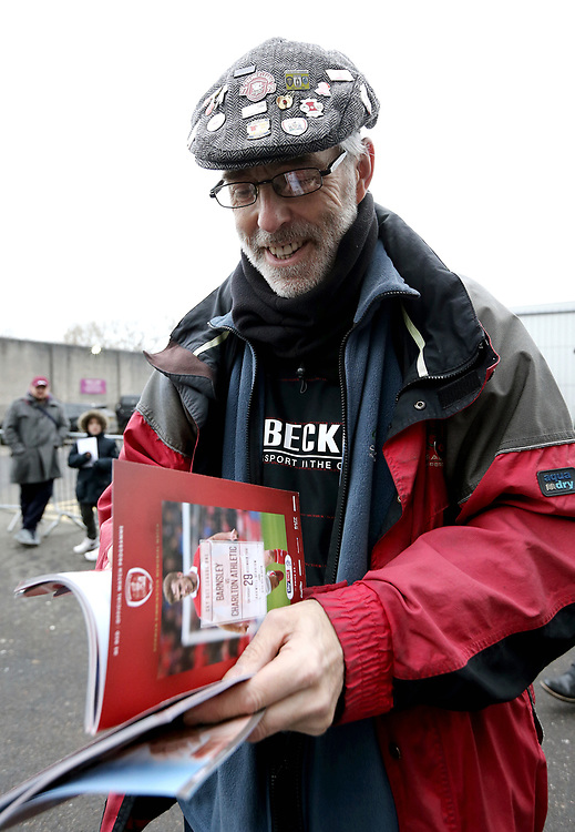 Burnley autograph hunters wait for the players to arrive at Turf Moor<br /> <br /> Photographer Rich Linley/CameraSport<br /> <br /> Emirates FA Cup Third Round - Burnley v Barnsley - Saturday 5th January 2019 - Turf Moor - Burnley<br />  <br /> World Copyright © 2019 CameraSport. All rights reserved. 43 Linden Ave. Countesthorpe. Leicester. England. LE8 5PG - Tel: +44 (0) 116 277 4147 - admin@camerasport.com - www.camerasport.com