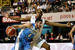 20171123/ Nicolas Celaya - adhocFOTOS/ URUGUAY/ MONTEVIDEO/ PALACIO PE&Ntilde;AROL/ Uruguay vs Panama durante un partido por Eliminatorias Mundial de Basket China 2019 en el Palacio Pe&ntilde;arol. <br /> En la foto: Uruguay vs Panama durante un partido por Eliminatorias Mundial de Basket China 2019 en el Palacio Pe&ntilde;arol.  Foto: Nicol&aacute;s Celaya /adhocFOTOS