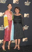 U.S. Representative Maxine Waters &amp; actress Tracee Ellis Ross at the 2017 MTV Movie &amp; TV Awards at the Shrine Auditorium, Los Angeles, USA 07 May  2017<br /> Picture: Paul Smith/Featureflash/SilverHub 0208 004 5359 sales@silverhubmedia.com