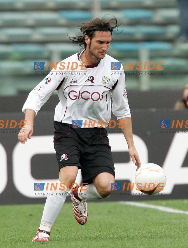 Rolando Bianchi (Reggina)<br /> Italian &quot;Serie A&quot; 2006-07<br /> 25 Feb 2007 (Match Day 25)<br /> Roma-Reggina (3-0)<br /> &quot;Olimpico&quot;-Stadium-Roma-Italy<br /> Photographer: Andrea Staccioli INSIDE