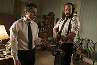 Insidious: The Last Key (2018) <br /> LEIGH WHANNELL and ANGUS SAMPSON <br /> *Filmstill - Editorial Use Only*<br /> CAP/MFS<br /> Image supplied by Capital Pictures