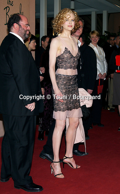 Nicole Kidman arriving at the 8th Annual Critics' Choice Awards at the Beverly Hills Hotel in Los Angeles. January 17, 2003.