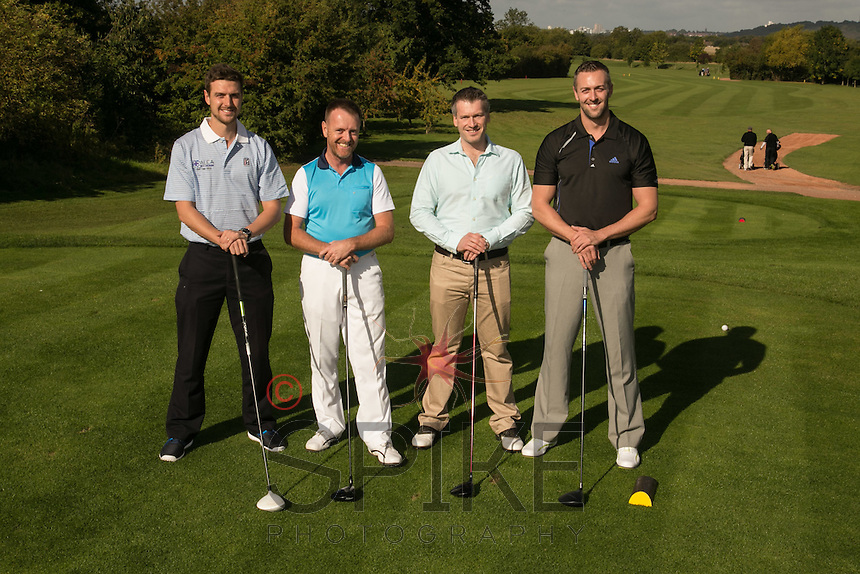 The John Pye team of Richard Reed, John Miles, Chris Roper and Peter Reed