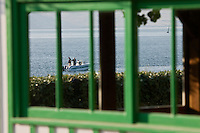Europe/France/Aquitaine/33/Gironde/Bassin d'Arcachon/Le Cap Ferret: Détail du Cabanon du restaurant : Chez Hortense