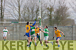 Action from the Senior Football League Div 3 Na Gaeil v Beaufort at Killeen Na Gaeil GAA Ground on Saturday