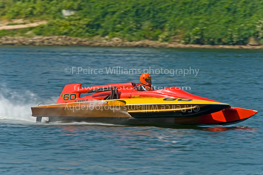 """E-60 """"Fast Company"""" (Ed Karelson 280 class cabover hydroplane)"""