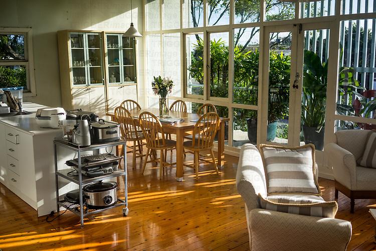 Interior of old australian home on Gold Coast