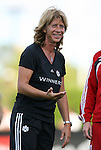 22 July 2009: Canada head coach Carolina Morace (ITA). The United States Women's National Team defeated the Canada Women's National Team 1-0 at Blackbaud Stadium in Charleston, South Carolina in an international friendly soccer match.